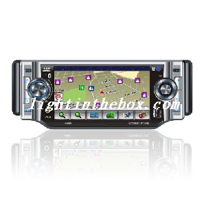 4.3-inch Touch Screen 1 Din In-Dash Car DVD Player TV and Bluetooth-Detachable Panel JZY-7236 SZC436